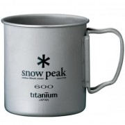Кружка SNOW PEAK TI-SINGLE CUP 600ML