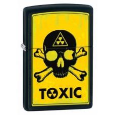 Зажигалка Zippo Toxic Black Matte 28310