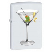 Зажигалка Zippo Martini White Matte 28271