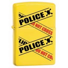 Зажигалка Zippo Police Caution Lemon 28060
