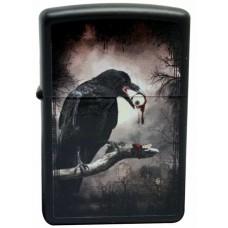 Зажигалка Zippo Goth-Raven Eyeball 28434