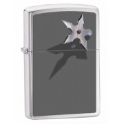 Зажигалка Zippo Cornered Star Brushed Chrome (28030)