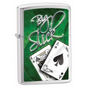 Зажигалка Zippo Big Slick Brushed Chrome (28281)