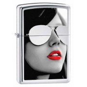 Зажигалка Zippo Sunglasses High Polished Chrome 28274