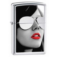 Зажигалка Zippo Sunglasses High Polished Chrome 28274