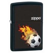 Зажигалка Zippo Soccer Black Matte 28302