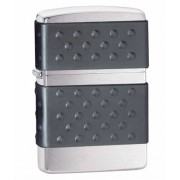 Зажигалка Zippo Black Zip Guard Brushed Chrome (200ZP)