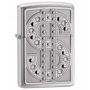 Зажигалка Zippo Bling Emblem Polished Chrome (20904)