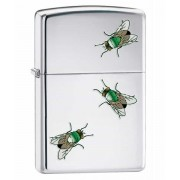 Зажигалка Zippo Flies High Polish Chrome (24881)