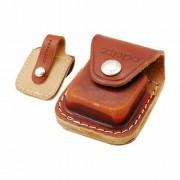 Чехол коричневый с ремешком Zippo LPLB