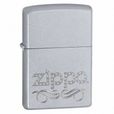 Зажигалка Zippo Scroll Satin Chrome 24335