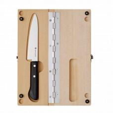 Туристический нож в деревянном футляре CS-207