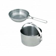 Кастрюля с крышкой-сковородой Tatonka Kettle 4.0