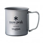 Кружка SNOW PEAK TI-SINGLE CUP 450ML