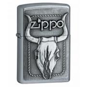 Зажигалка Zippo Bull Skull Street Chrome (20286)