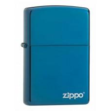 Зажигалка Zippo Sapphire With Zippo Logo 20446ZL