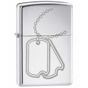Зажигалка Zippo Dog Tag High Polish Chrome (24836)