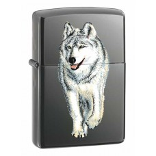 Зажигалка Zippo Wolf Black Ice 769