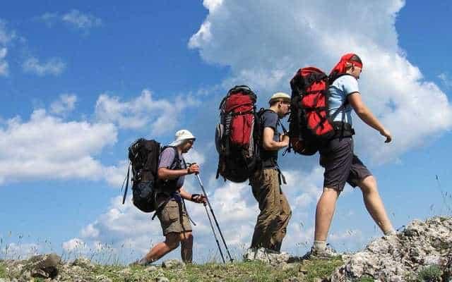Туристические рюкзаки в походе